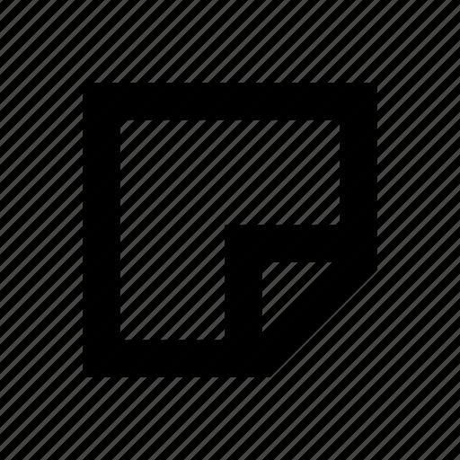 memo, message, note icon