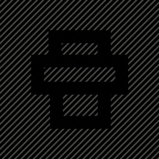 file, office, print, printer icon