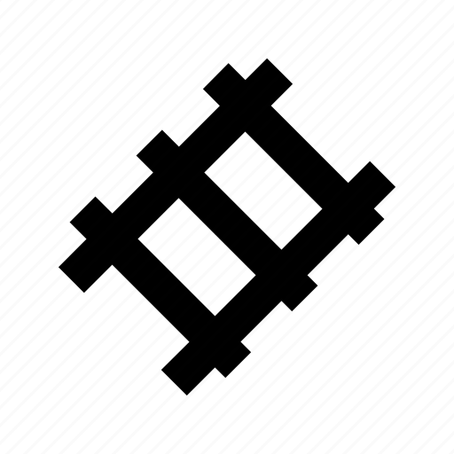 connect, track, train, transport icon