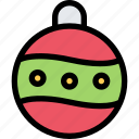 ball, christmas, decoration, gift, winter, xmas icon