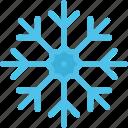 ice, snow, snowflake, christmas, winter