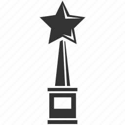 achievement, award, best, prize, star, trophy, winner icon