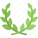 laurel, wreath, garland, christmas