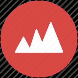 analysis, analytics, area, chart, data visualization, dataviz, graph, statistics icon