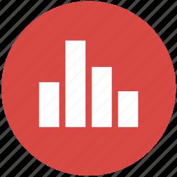 analytics, bar, chart, column, data visualization, graph, statistics icon