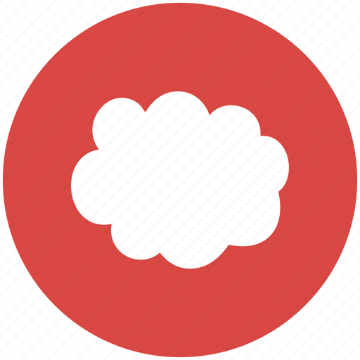 brainstorm, cloud, cloudy, mindmap, thinking, weather icon
