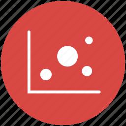 analytics, bubble, chart, data visualization, dataviz, graph, statistics icon