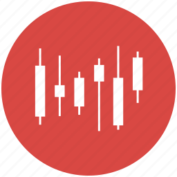 candlestick, chart, graph, price, price index, shares, stock icon