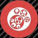 circle, circular, geometry, packing, shapes icon