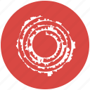 condegram, dataviz, science, spiral, swirl icon