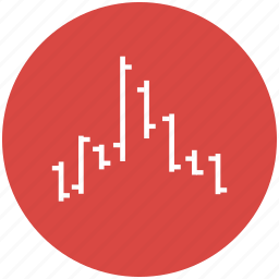 chart, hikkake, pattern, price index, shares, stocks icon