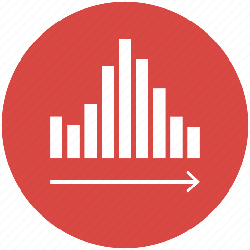 analytics, bar, chart, data visualization, graph, histogram, report icon