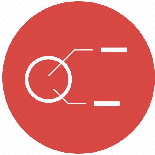 analysis, analytics, diagram, display, dissect, label, monitor icon