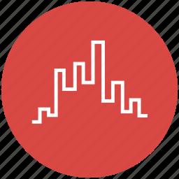chart, finance, kagi, price index, shares, steps, stocks icon