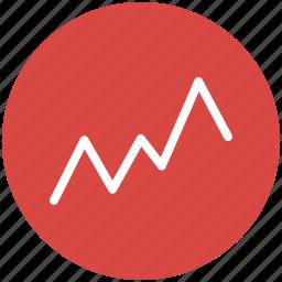 chart, data visualization, dataviz, graph, line icon