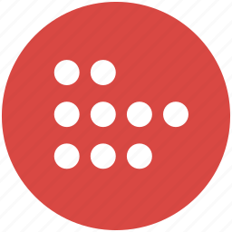 circles, count, counting, dots, points icon