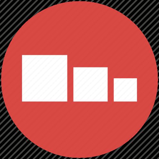 area, chart, charts, compare, comparing, proportional icon