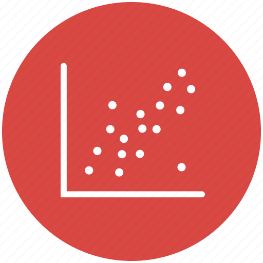 chart, graph, plot, points, scatter, scattergram, scatterplot icon