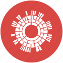 chart, diagram, sun, sunburst diagram, burst icon