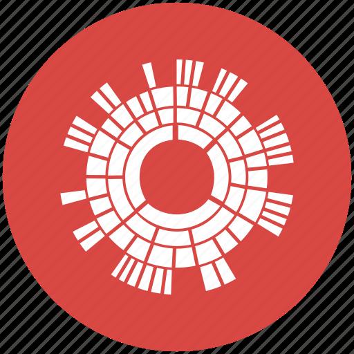 Burst  Chart  Diagram  Sun  Sunburst Diagram Icon