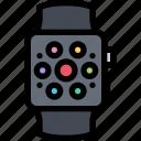 communication, electronics, phone, smartwatch, technology