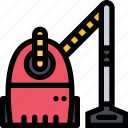 cleaner, cleaning, household, tool, vacuum icon