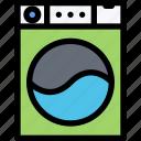 equipment, kitchen, machine, robot, washin, washing icon