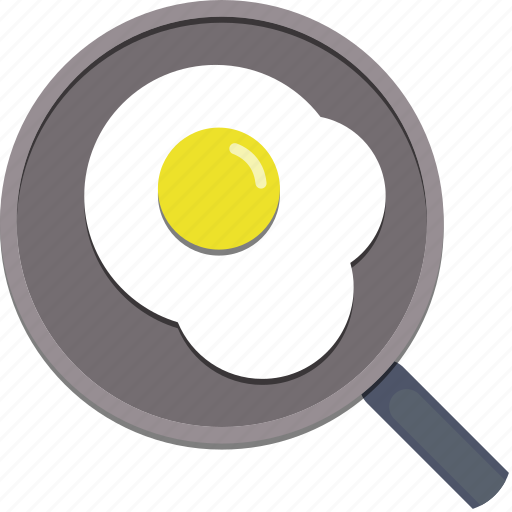 egg, food, kitchen, omelette, pan icon