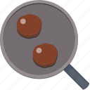 burger, burgers, eat, food, kitchen, pan icon