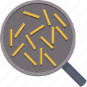 food, french fries, pan, potatoes icon