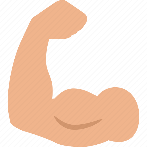 arm, bicep, biceps, fitness, muscle, strength, workout icon