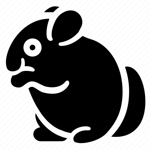 animal, chinchilla, hobby, pet, wild, zoo icon