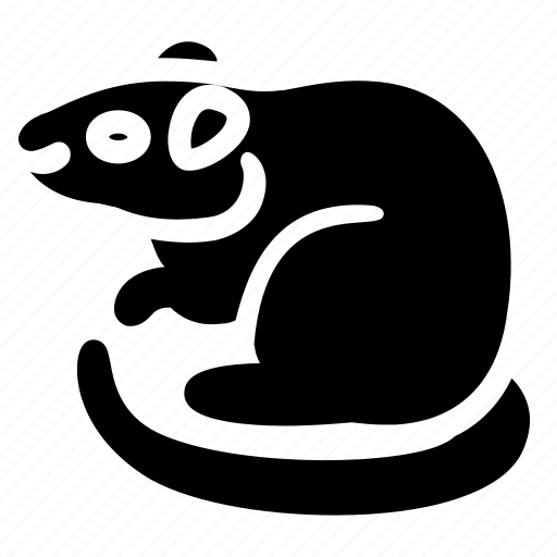 animal, hobby, pet, rat, wild, zoo icon