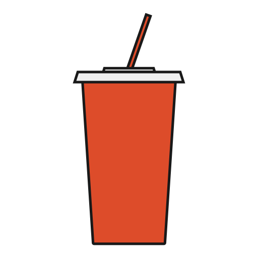 drink, movie, snack, soda, theater, viewer icon