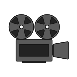 camera, film, movie, projector, screening, tape icon