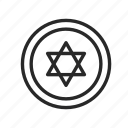 israel, religion, star of david, symbols, the jews icon