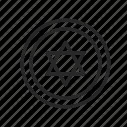 israel, religion, star of david, symbols, the jews icon