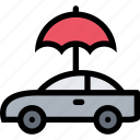 car, insurance, protection, transportation, vehicle icon