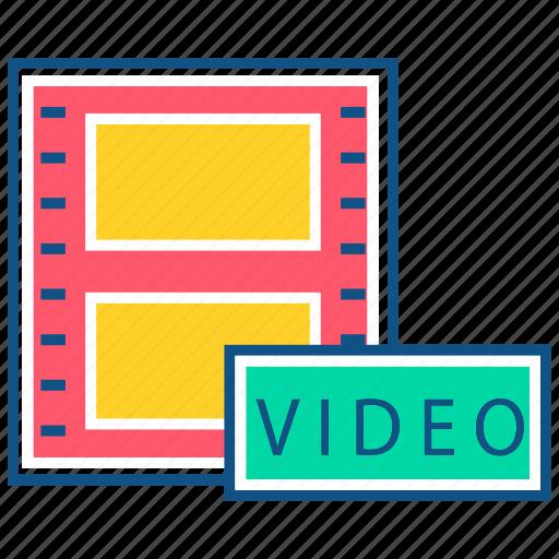 clip, film, media, mkv, movie, video, video clip icon