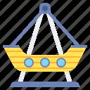 boat, pirate, ride, ship