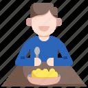 food, dinner, plate, restaurant, eat