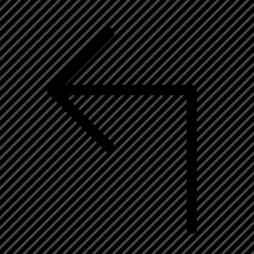 arrow, arrows, direction, left, navigation, up icon