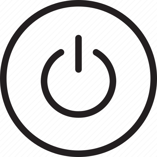 button, power icon