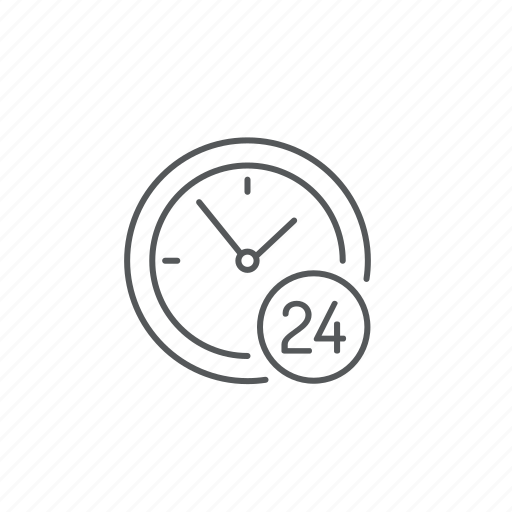 clock, hours icon