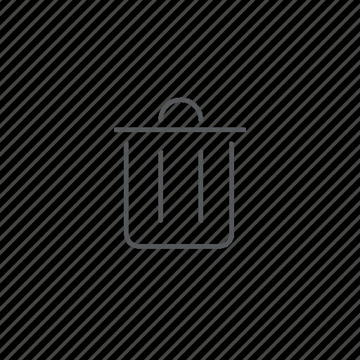 bin, recycle, remove, trash icon