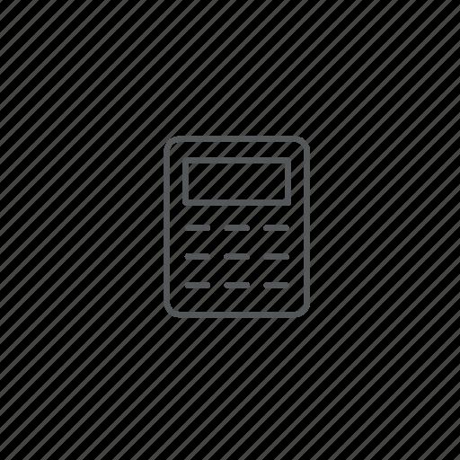 calculate, calculator, compute icon
