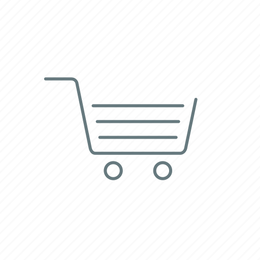 cart, empty, shop, shopping cart icon