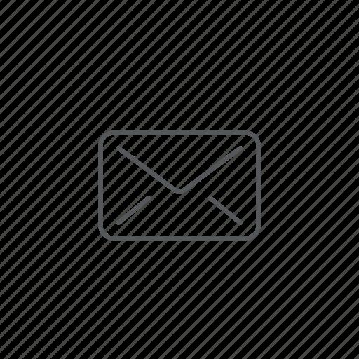 e-mail, envelope, mail, post, send icon