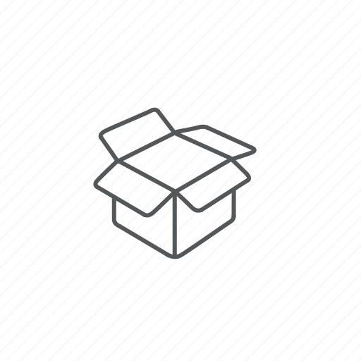 box, package, packaging icon