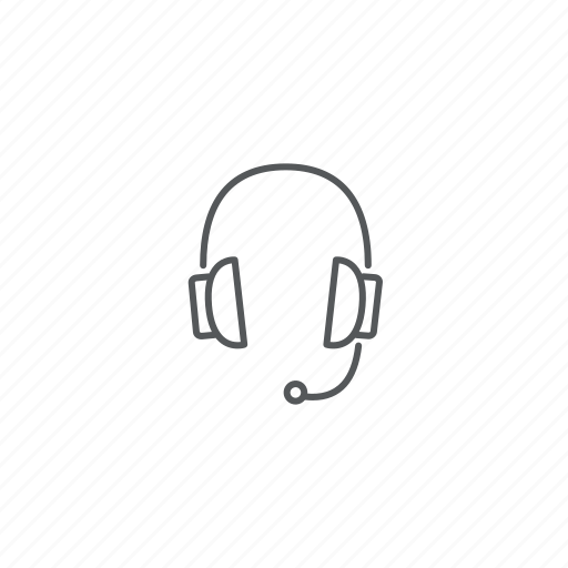 headphones, srvice, support icon